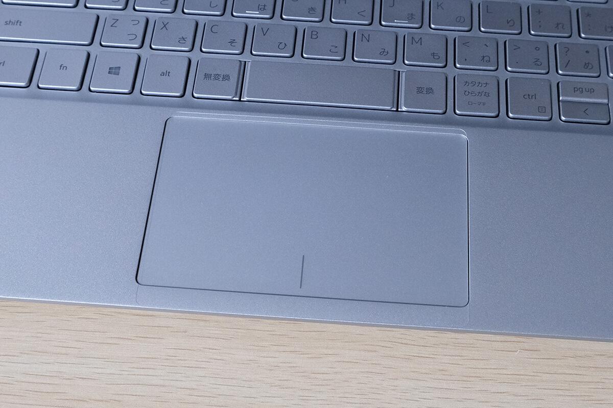 Dell Inspiron 13 7391のタッチパッド