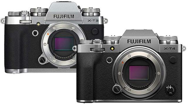 FUJIFILM X-T4とX-T3