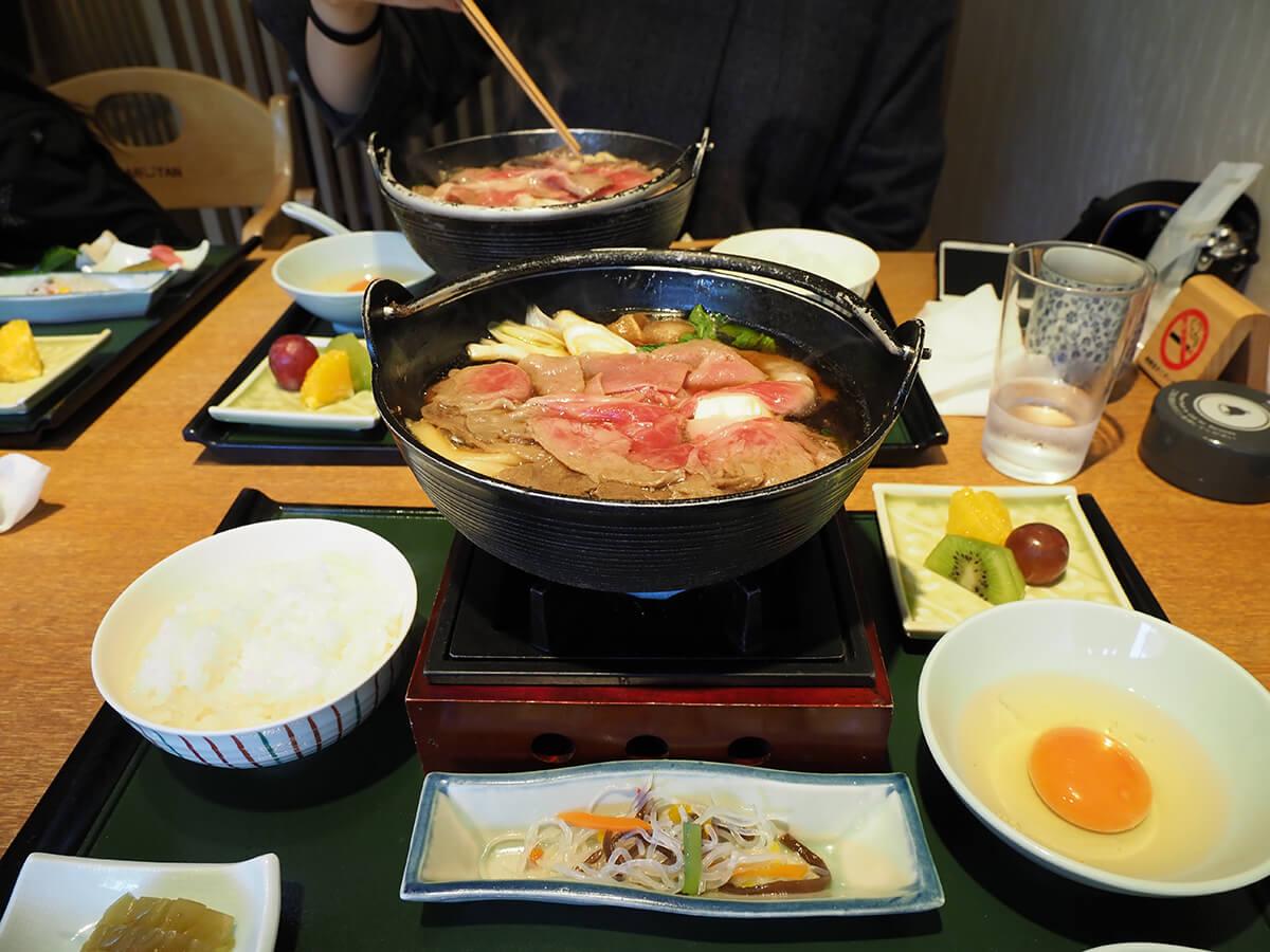 「旬彩 猪名野」神戸牛すき鍋膳