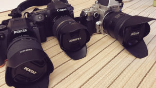 PENTAX K-S2・Canon 80D・Nikon Df