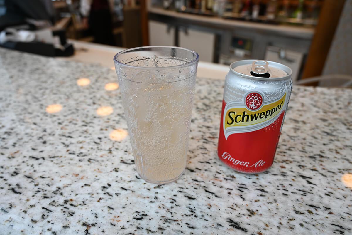 ダイヤモンド・プリンセス カリソプ・バーで飲んだジンジャーエール
