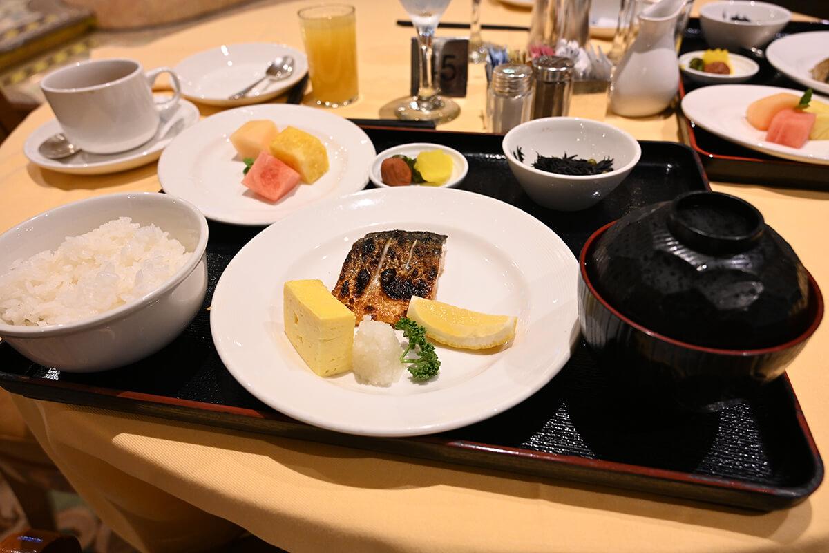 ダイヤモンド・プリンセス 朝食の和食