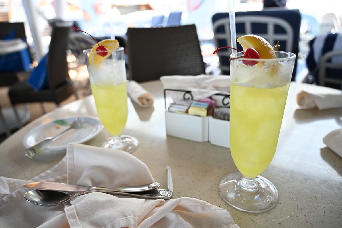 ダイヤモンド・プリンセス ハワイアン系のお酒