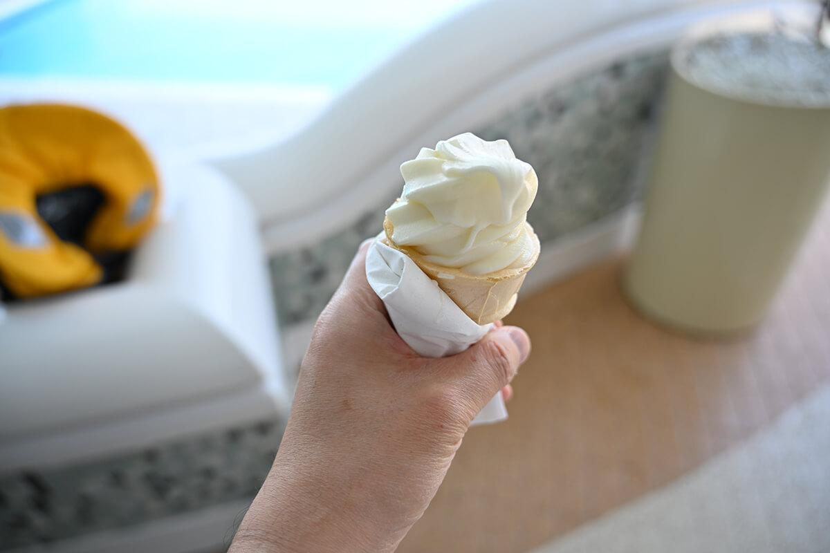 ダイヤモンド・プリンセス アイスクリーム