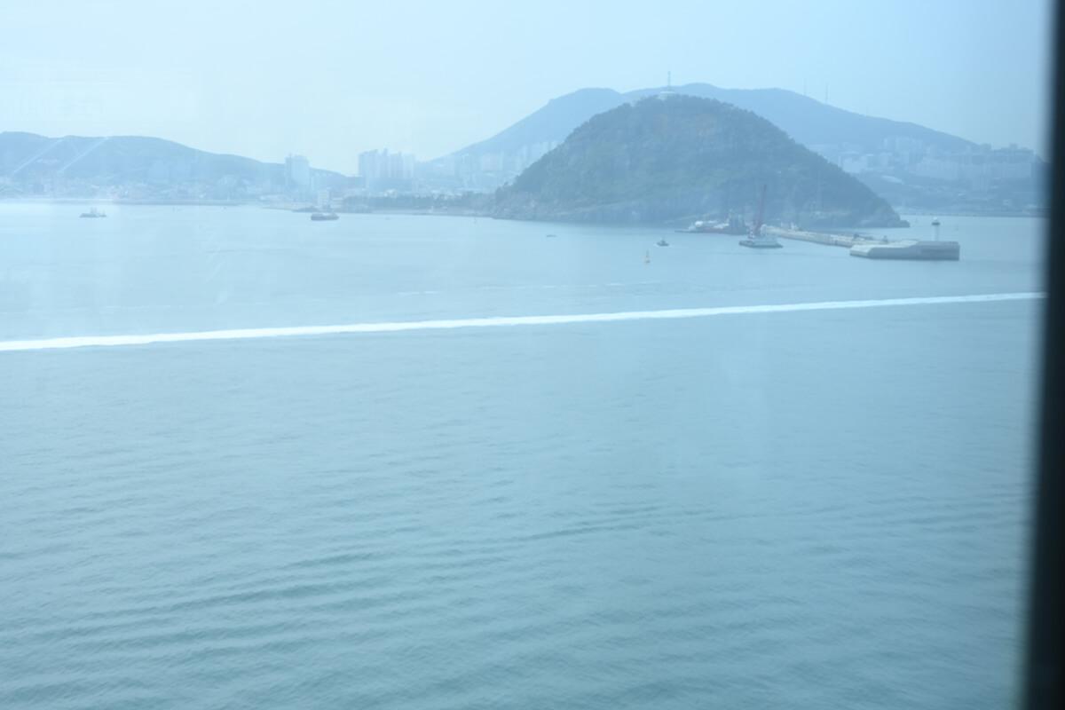 ダイヤモンド・プリンセスから見えた釜山