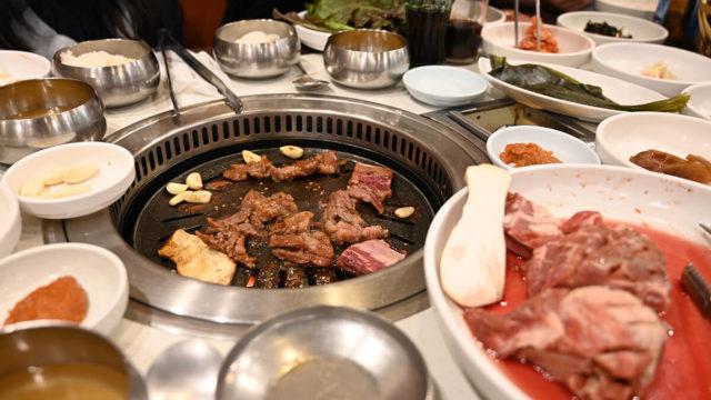 釜山で食べた韓国焼肉