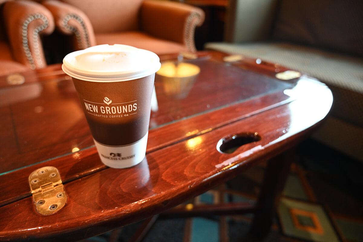 ダイヤモンド・プリンセス 有料のコーヒー