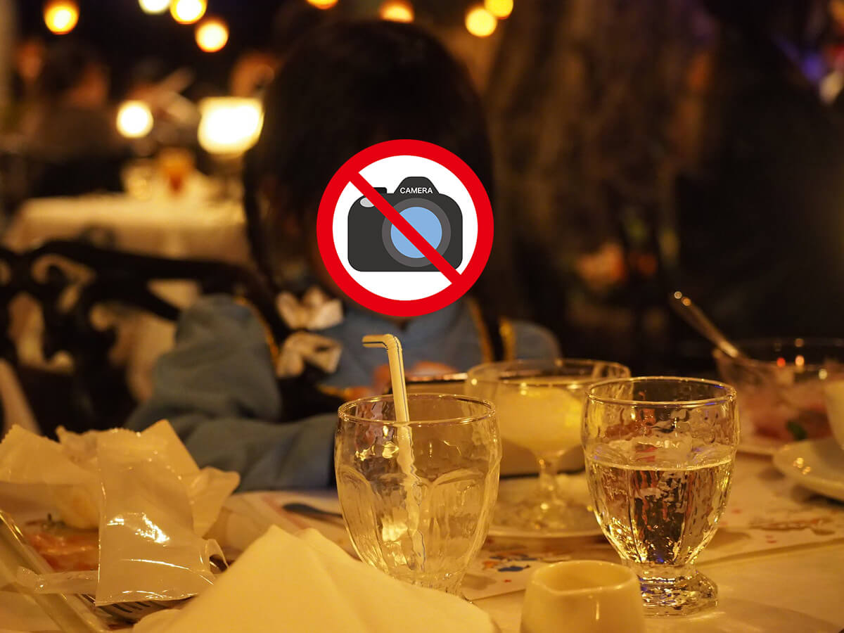 ブルーバイユーレストランの店内