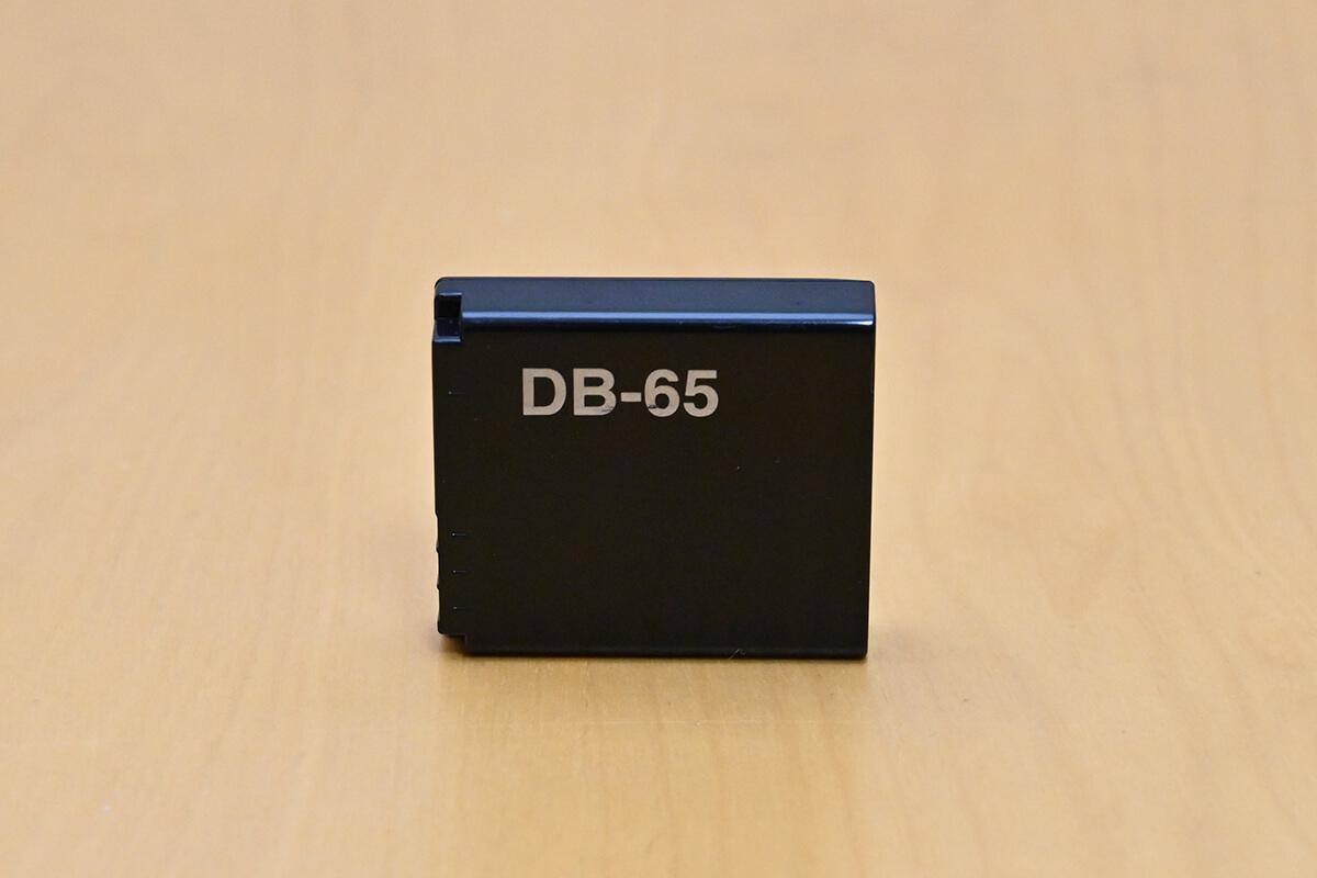 GR2のバッテリー「DB-65」