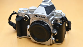 Nikon Df 正面から