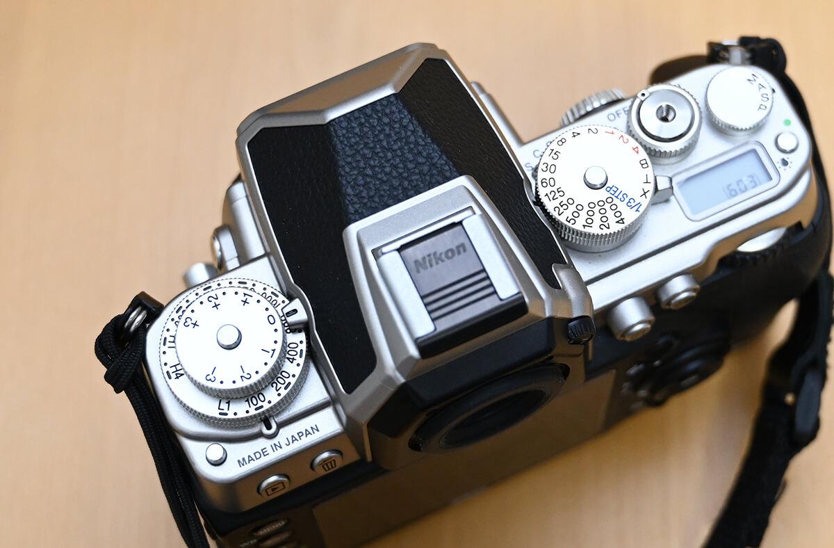 Nikon Dfの軍艦ダイアル