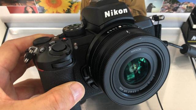 ニコンプラザで見たNikon Z 50