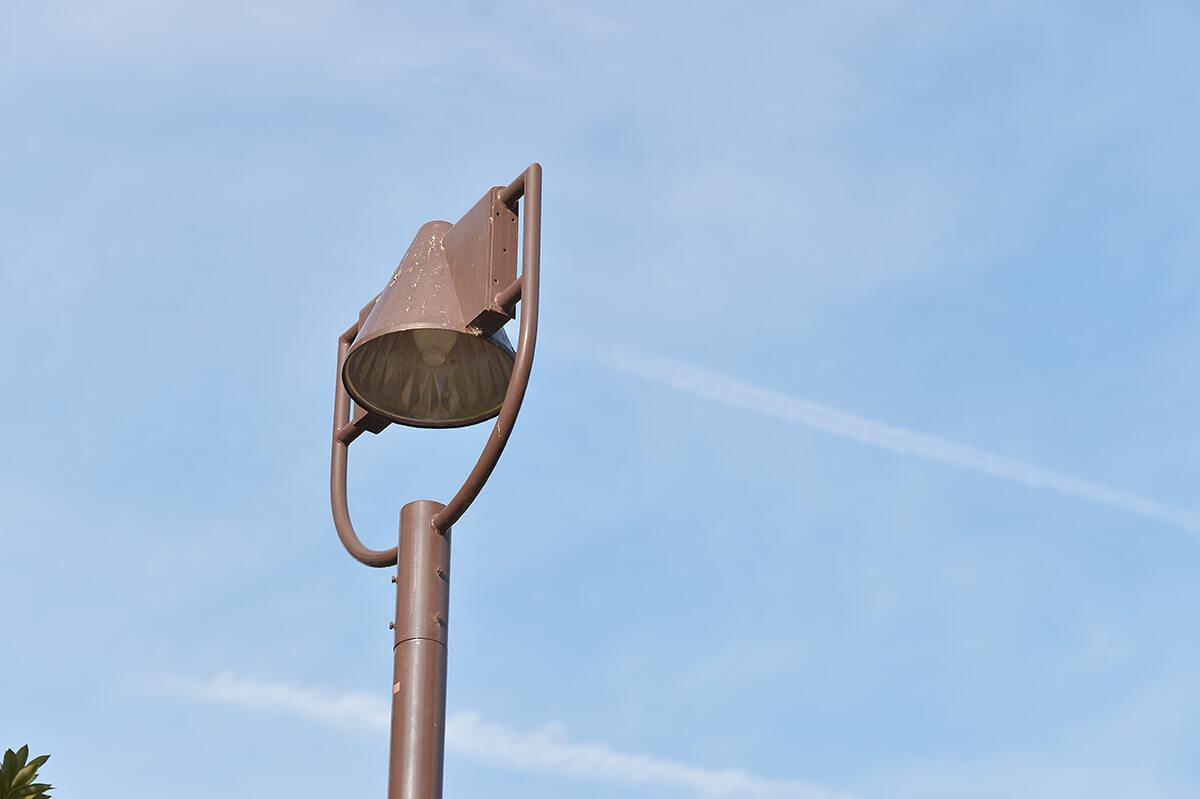 タムキューの作例 街灯