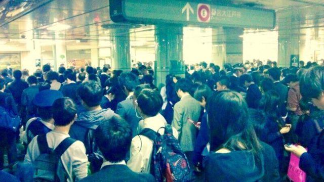 電車・駅の混雑