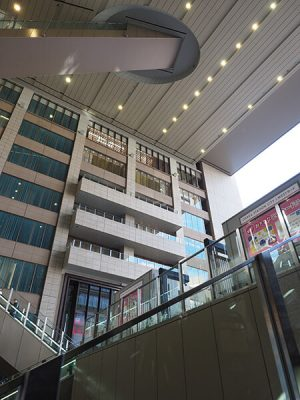 大阪駅の天井