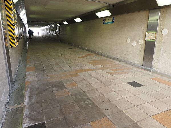 梅田の地下通路