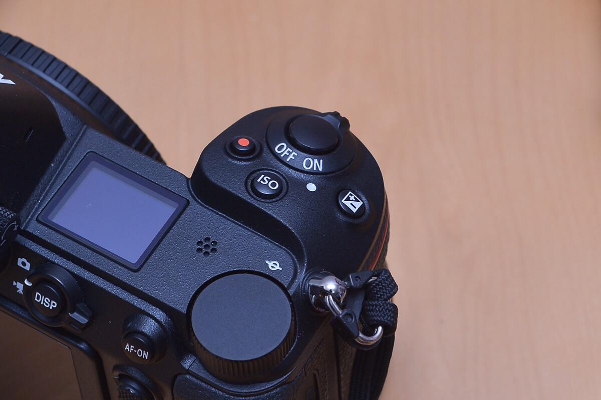 Nikon Z7 露出補正とISOのボタン