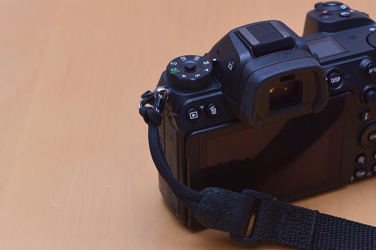 Nikon Z7の左側操作系統