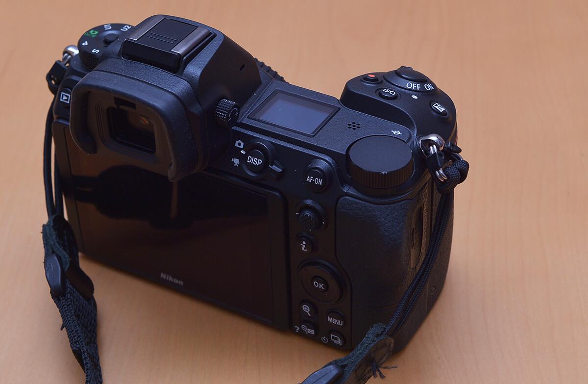 Nikon Z7の右側操作系統