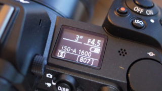 Nikon Z7 サブモニター