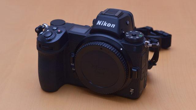 Nikon Z7 正面から