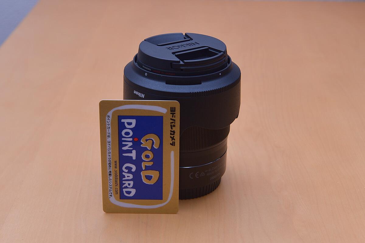 NIKKOR Z 35mm f/1.8 S 付属の花形フードを逆に装着