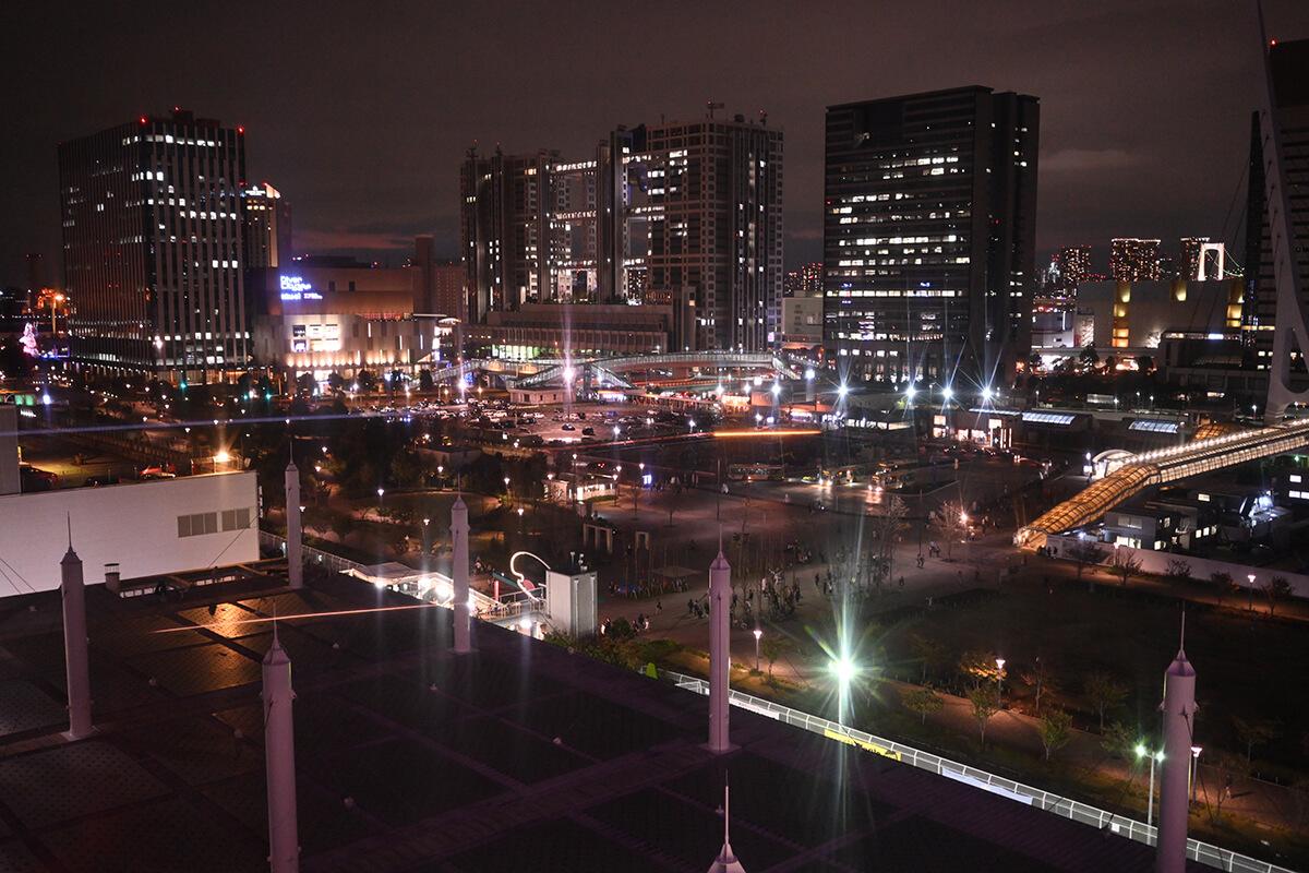 NIKKOR Z 35mm f/1.8 S 作例 お台場の夜景
